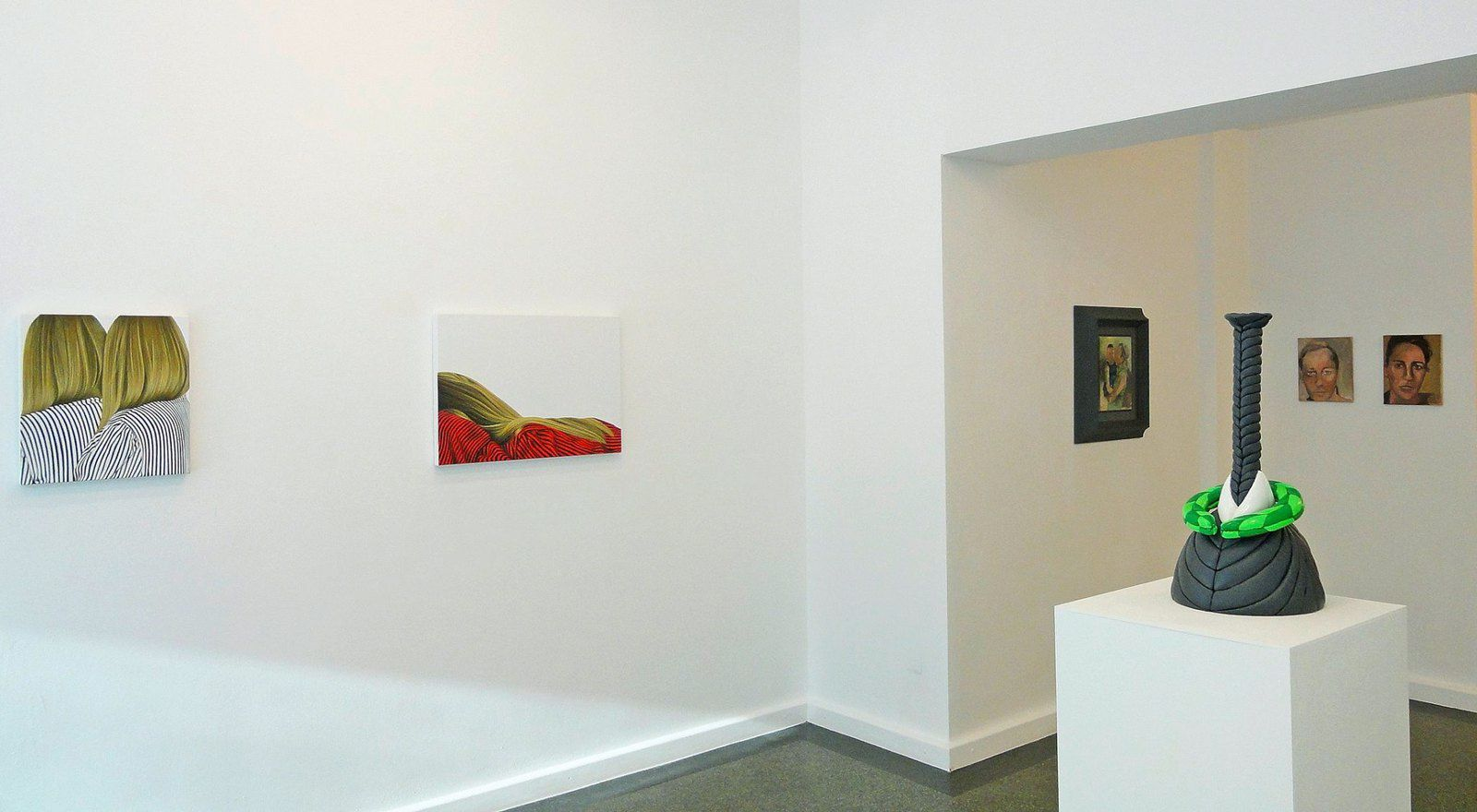 FACES - ChangesFiveX Part Five - Vues d'expo - Galerie Biesenbach, Cologne (Allemagne)