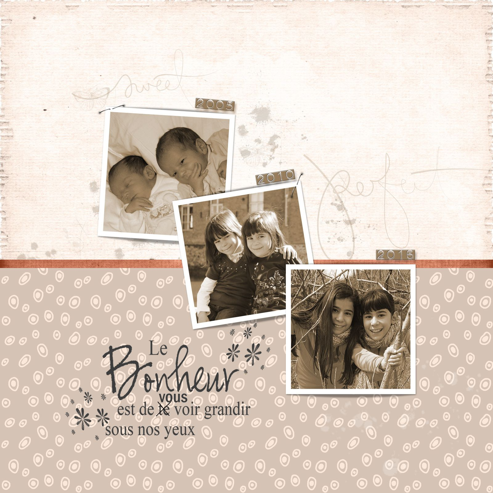 "Template Paperns et Imagine by Fran, kit ""Bruissements de Polatouche"" ACO"