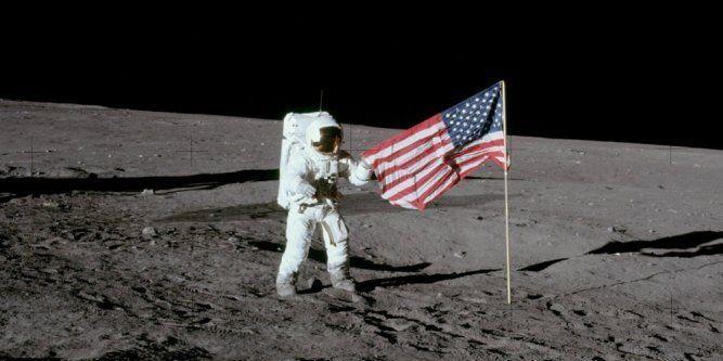 Souvenez-vous le 21 juillet 1969 l'homme posait le pied sur la lune pour la 1ère fois..