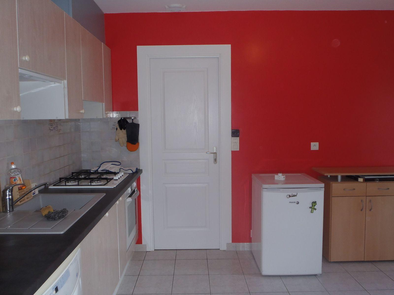 peinture dans une cuisine hazo bois jardins en images. Black Bedroom Furniture Sets. Home Design Ideas
