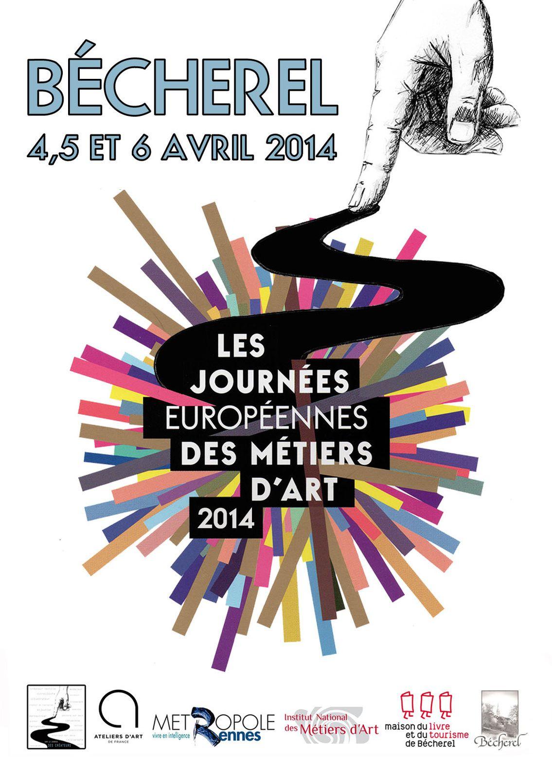 La création d'Art à Bécherel, les 4, 5 et 6 avril 2014