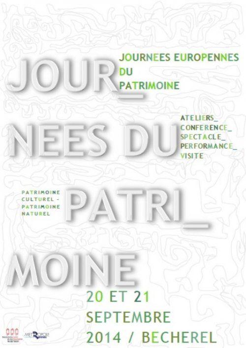 Journées du Patrimoine à Bécherel : ateliers, visites, spectacles et conférences, samedi 20 et dimanche 21 septembre