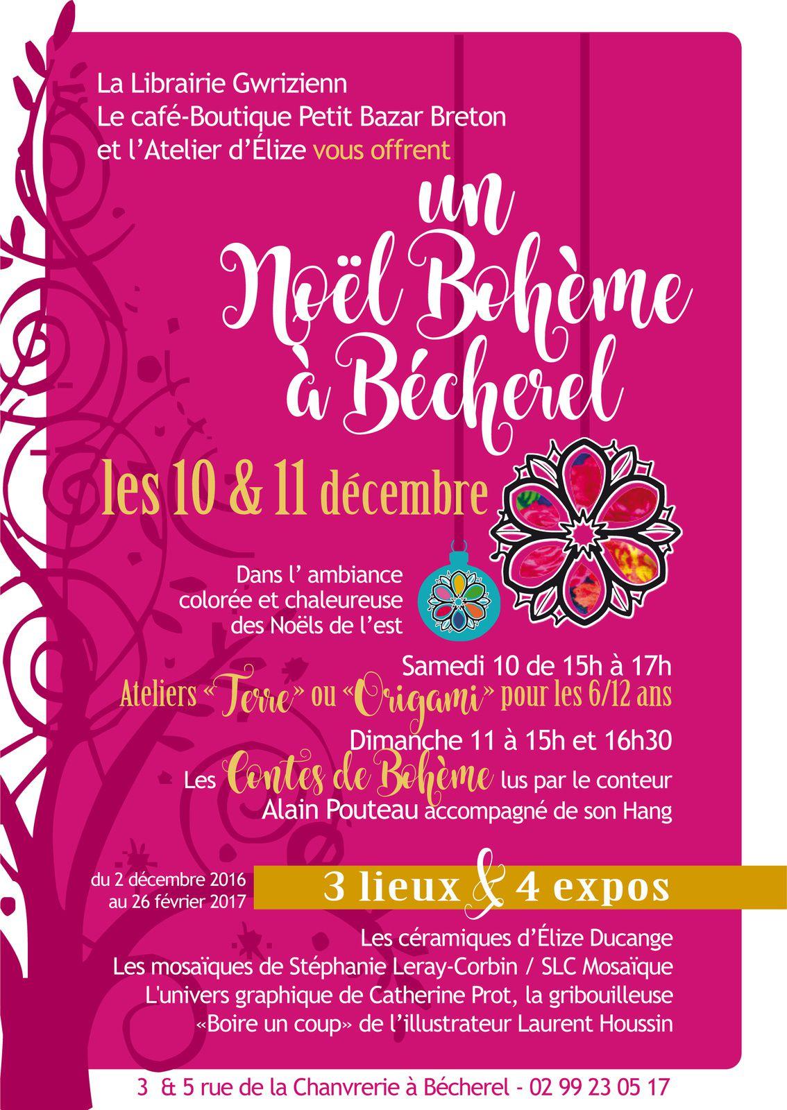 La magie de Noël à Bécherel (10 et 11 décembre 2016)