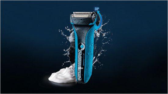 trnd, test de produit, rasoir braun waterflex