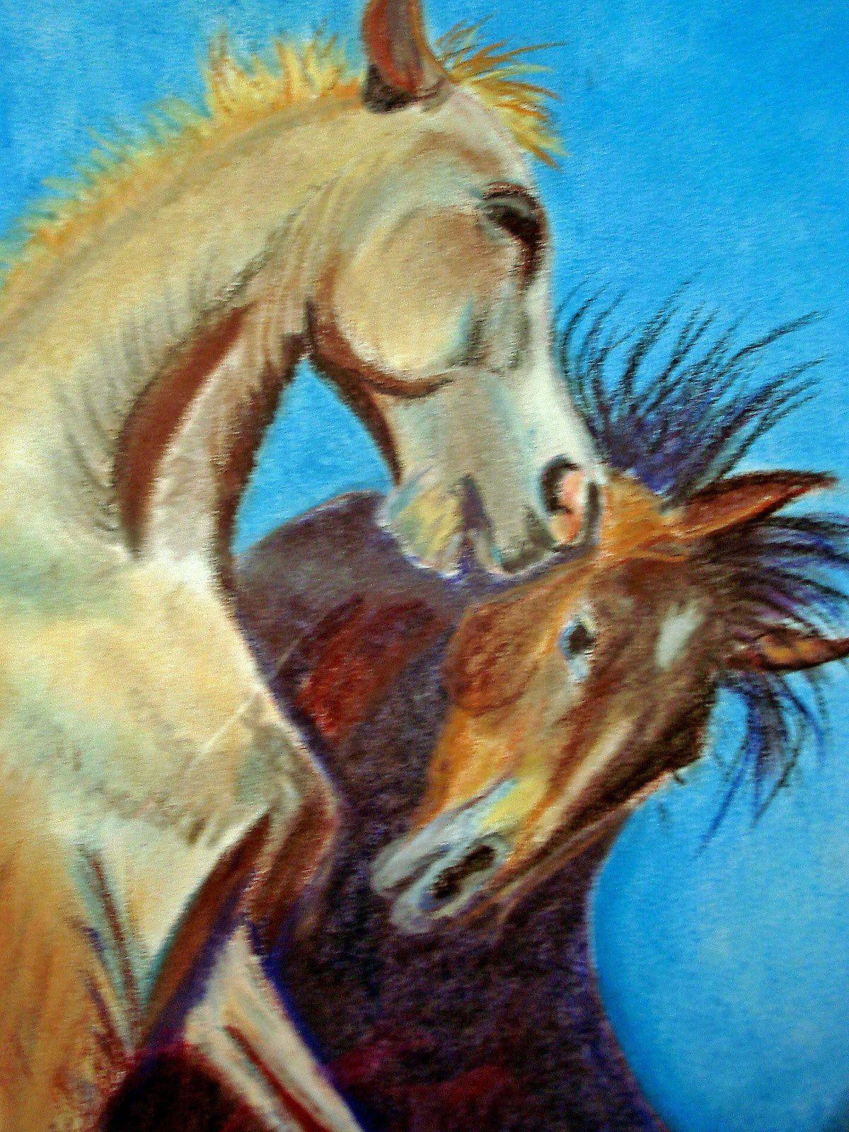 couple amoureux  (pastel)