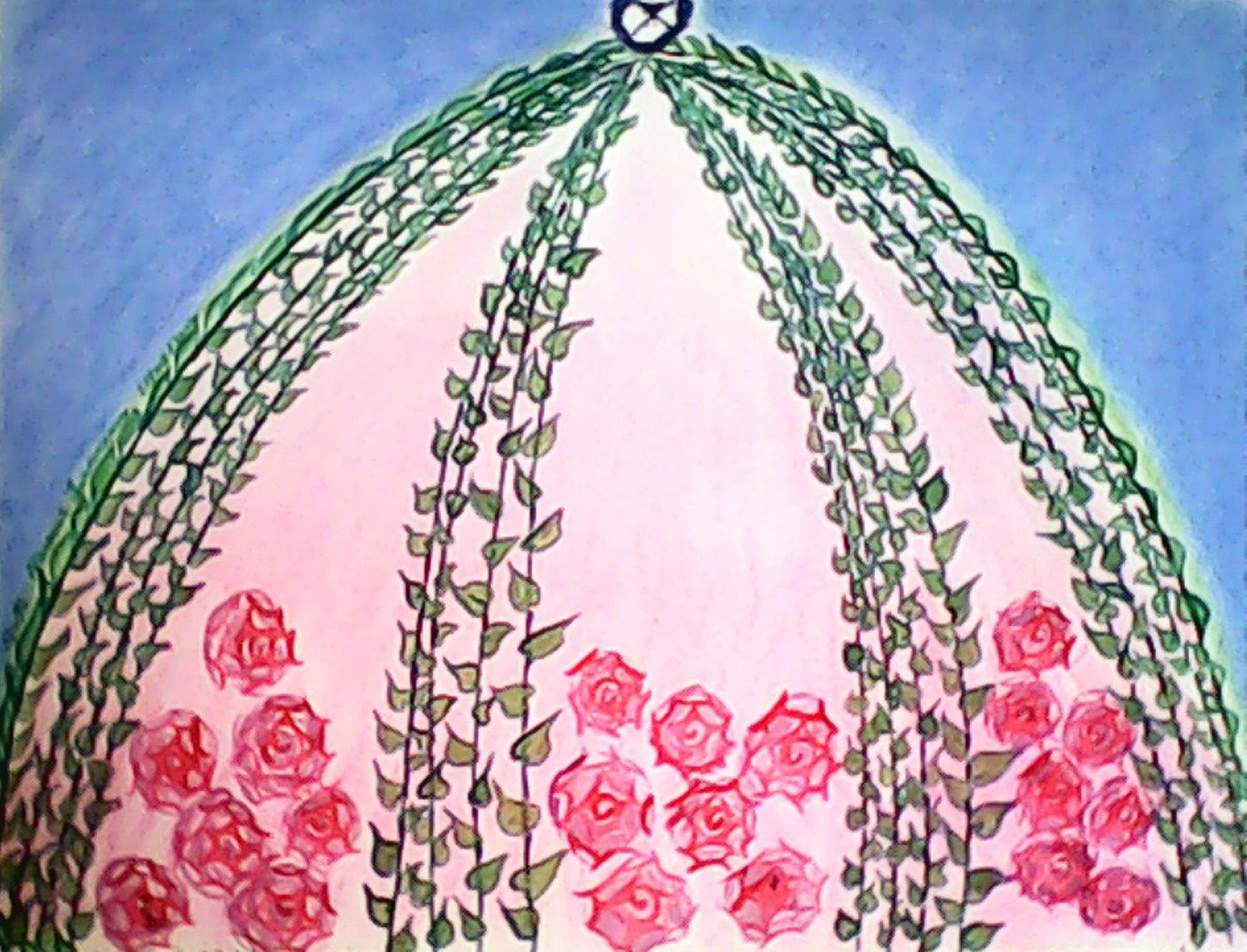 Dôme fleuri