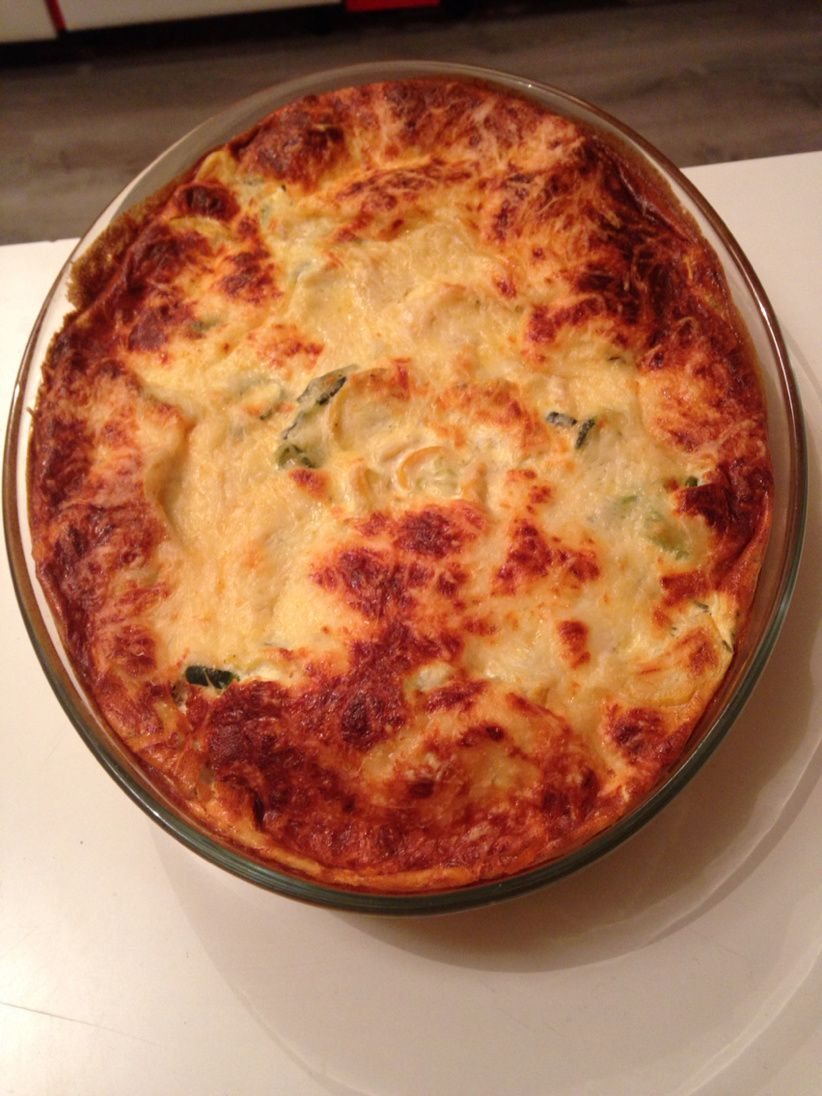 Gratin courgettes au fromage blanc