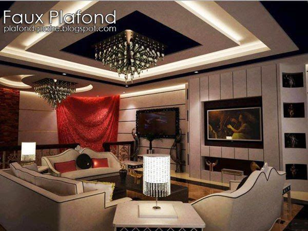 faux plafond contemporain d 39 ann e 2014 faux plafond design et d co. Black Bedroom Furniture Sets. Home Design Ideas