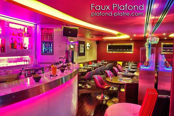 faux plafond pour restaurant contemporain faux plafond design et d co. Black Bedroom Furniture Sets. Home Design Ideas