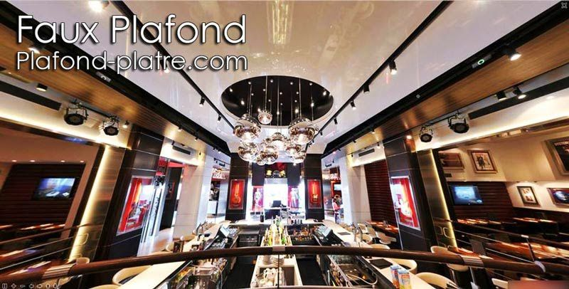 id e faux plafond restaurant de luxe faux plafond design et d co. Black Bedroom Furniture Sets. Home Design Ideas