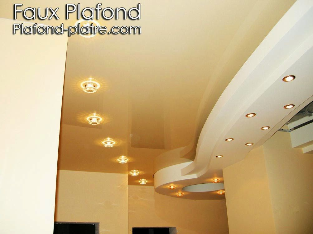 conception plafond lumineux couloirs faux plafond design et d co. Black Bedroom Furniture Sets. Home Design Ideas