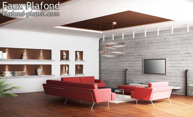 faux plafond suspendu tendu faux plafond design et d co. Black Bedroom Furniture Sets. Home Design Ideas