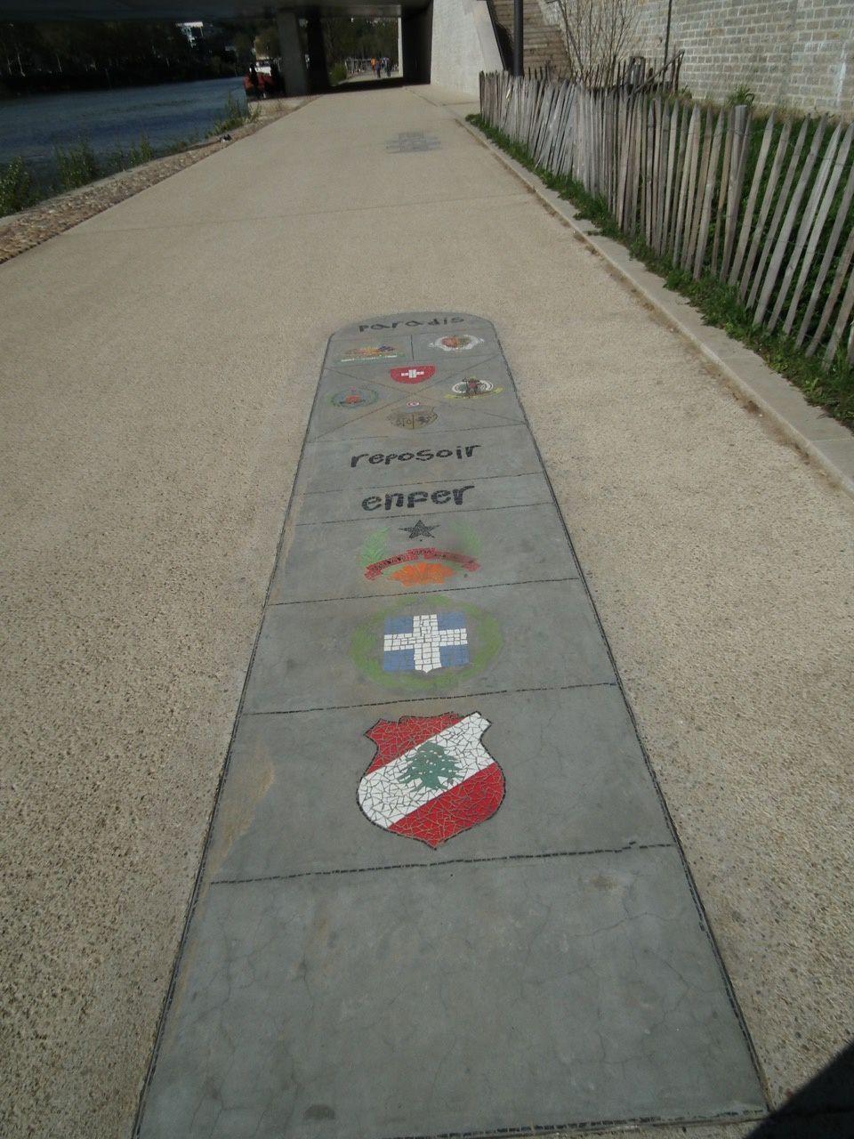 Des pas dans la ville... quai de Saône/1