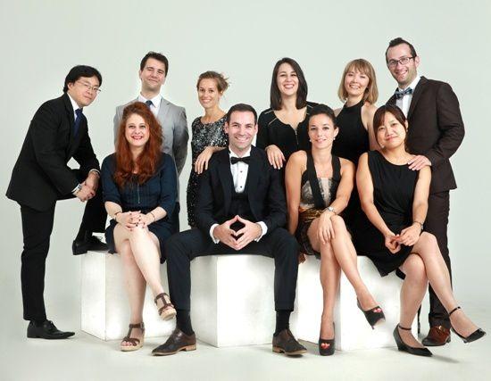 Les membres de la JCEF de Shanghai