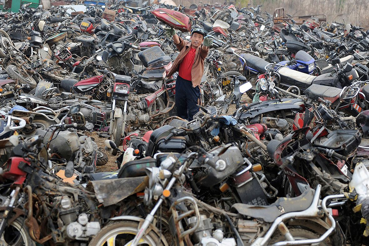 Des millions de véhicules mis en rebut