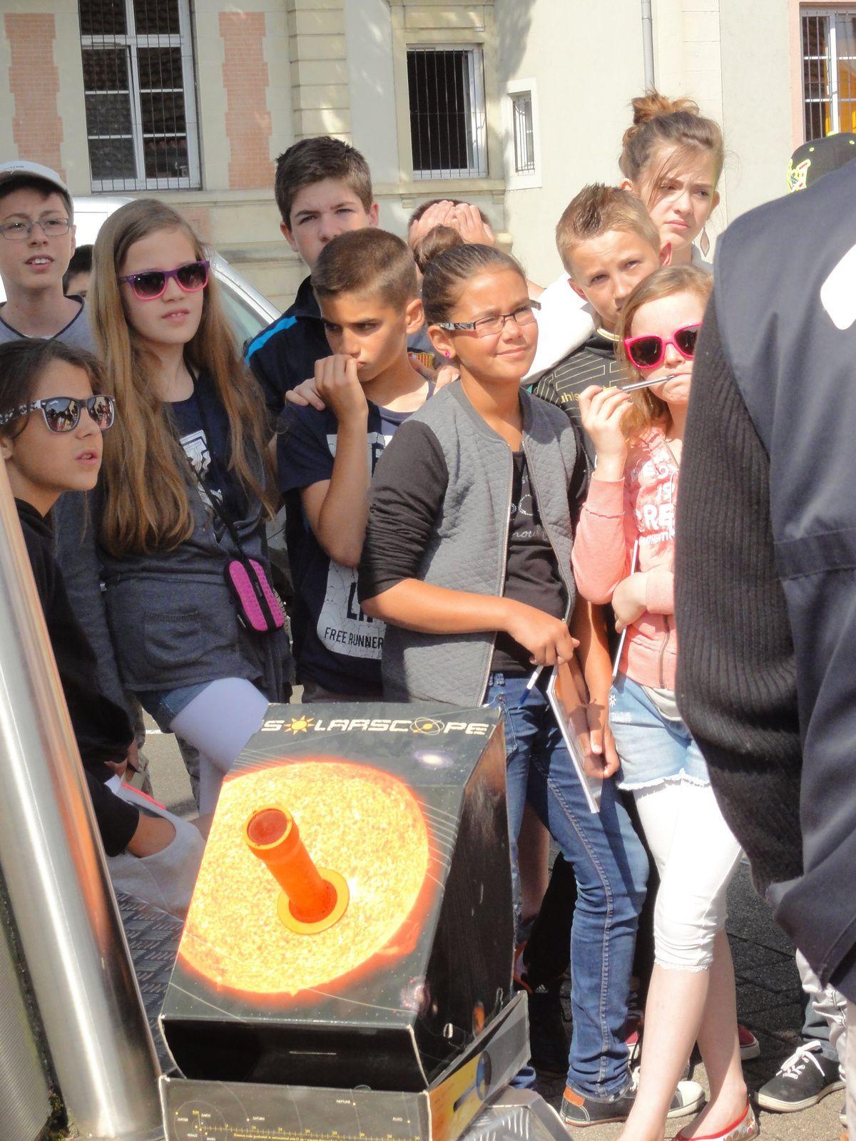 Sortie des 6°C à la cité des sciences de Montbéliard