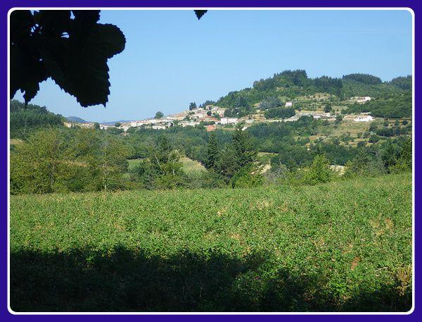 Chalancon, village à visiter...par temps plus frais