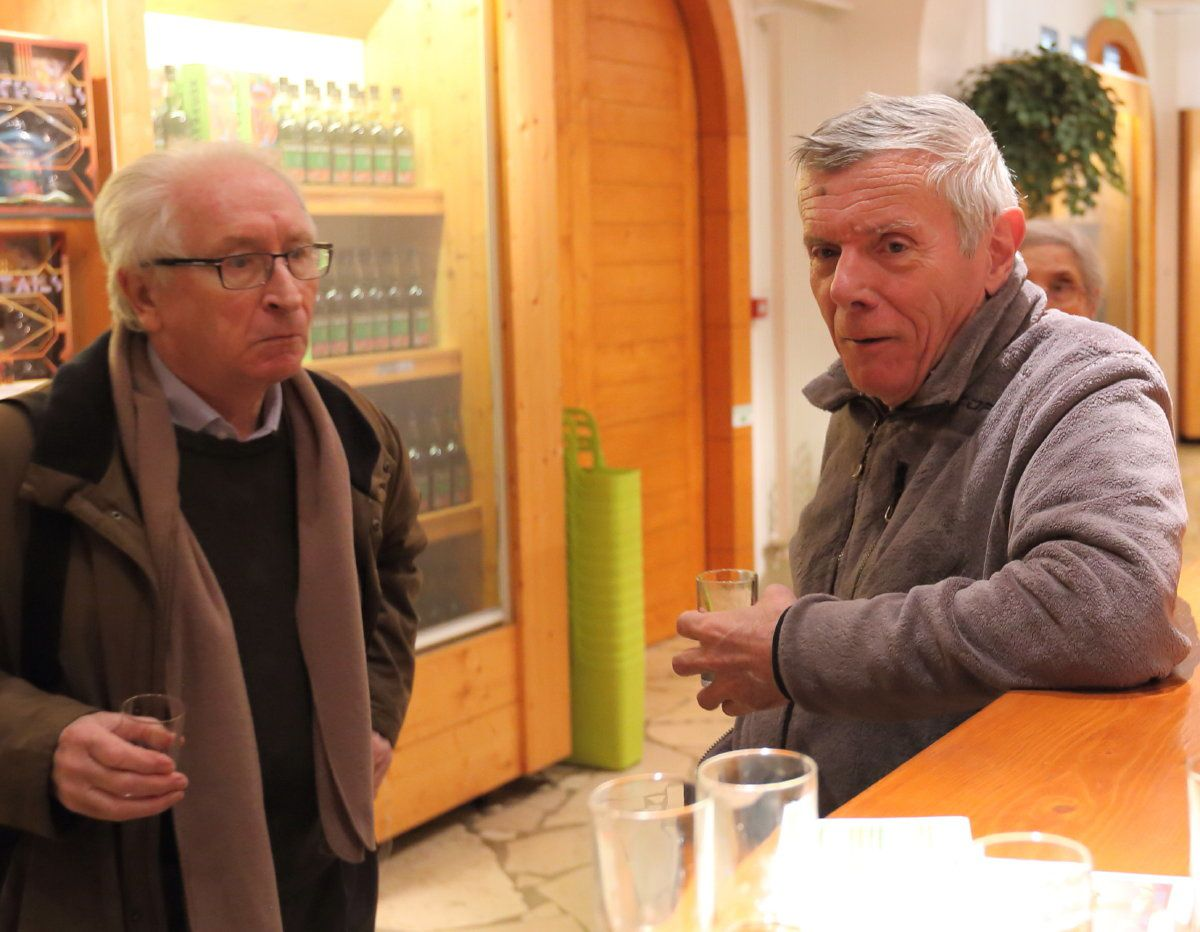 Inauguration Cinéma Allemand 26 janvier 2015 aux Caves de la Chartreuse et présence du réalisateur Ramon Zürcher