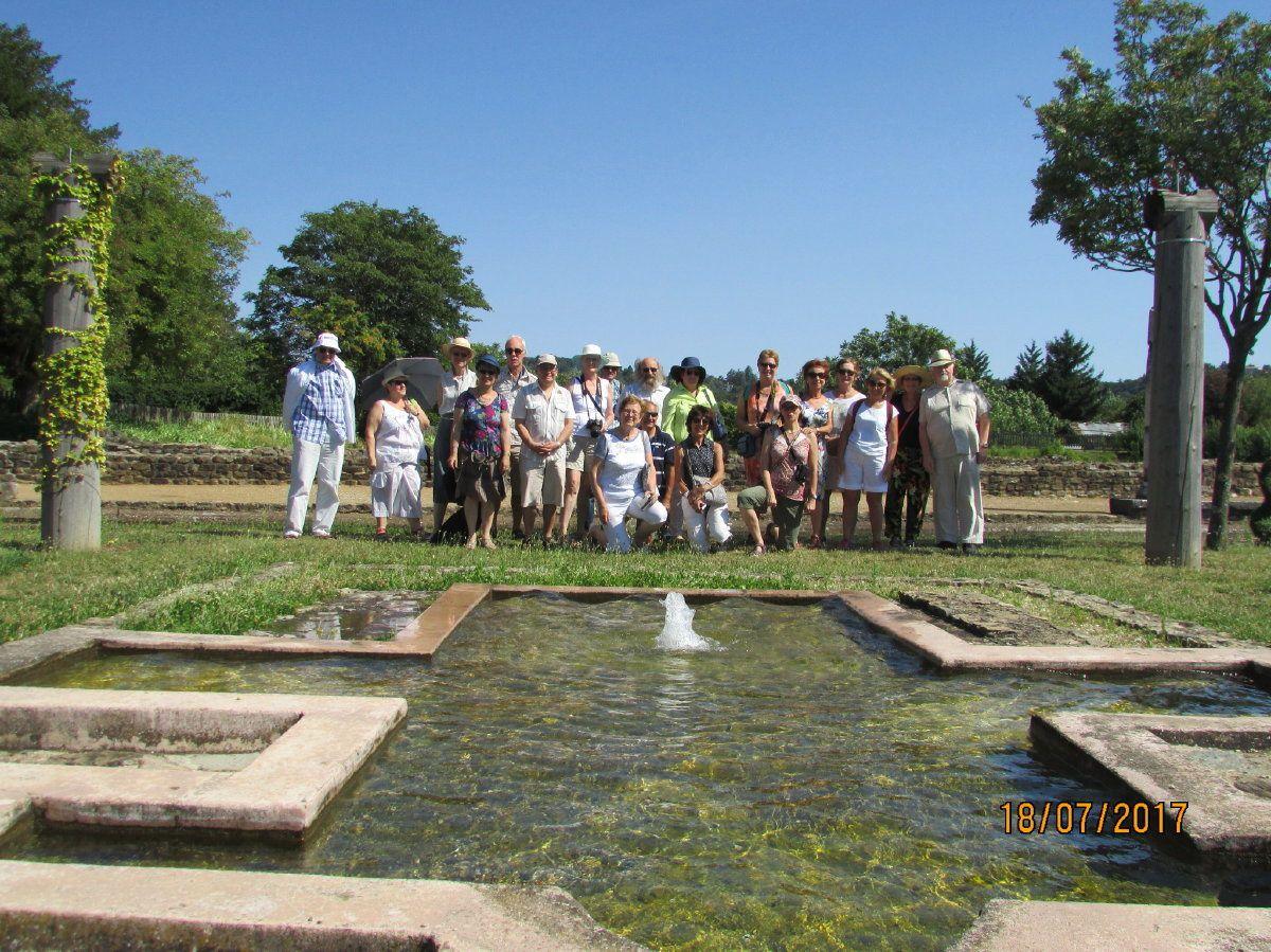 Visite des Herforder à Voiron, du 16 au 21 juillet 2017
