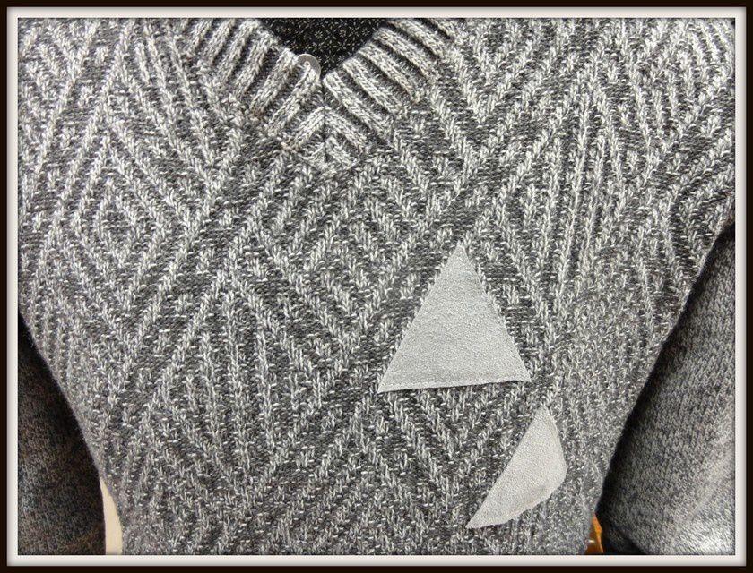 Pull fabriqué en Italie - 50% laine 50% acrylique - Machine 30°