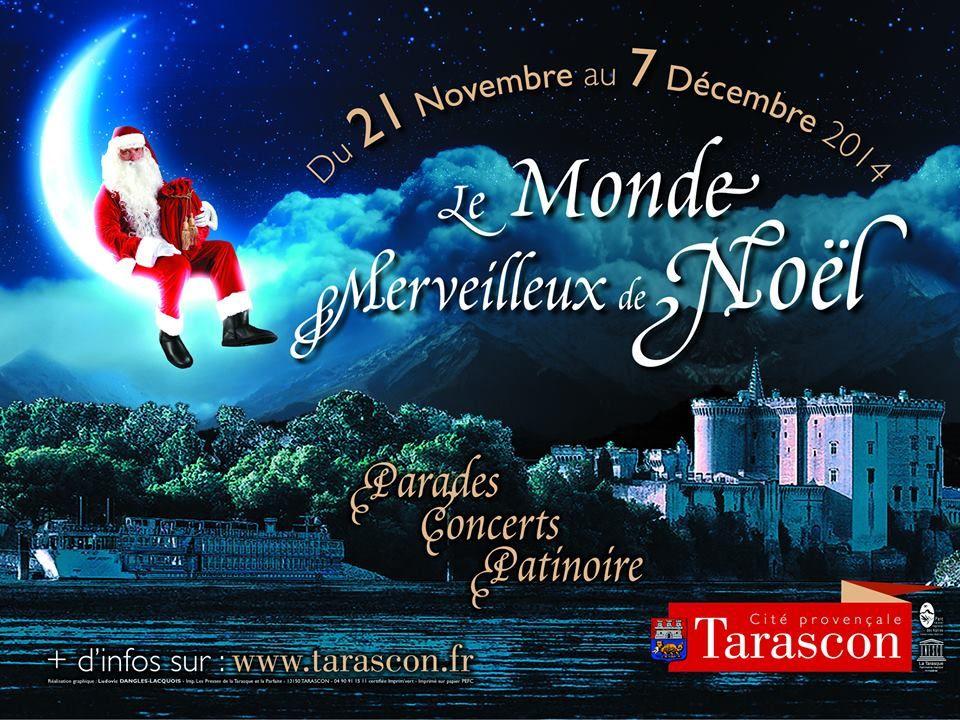 Du 21 novembre jusqu'à NOËL à Tarascon