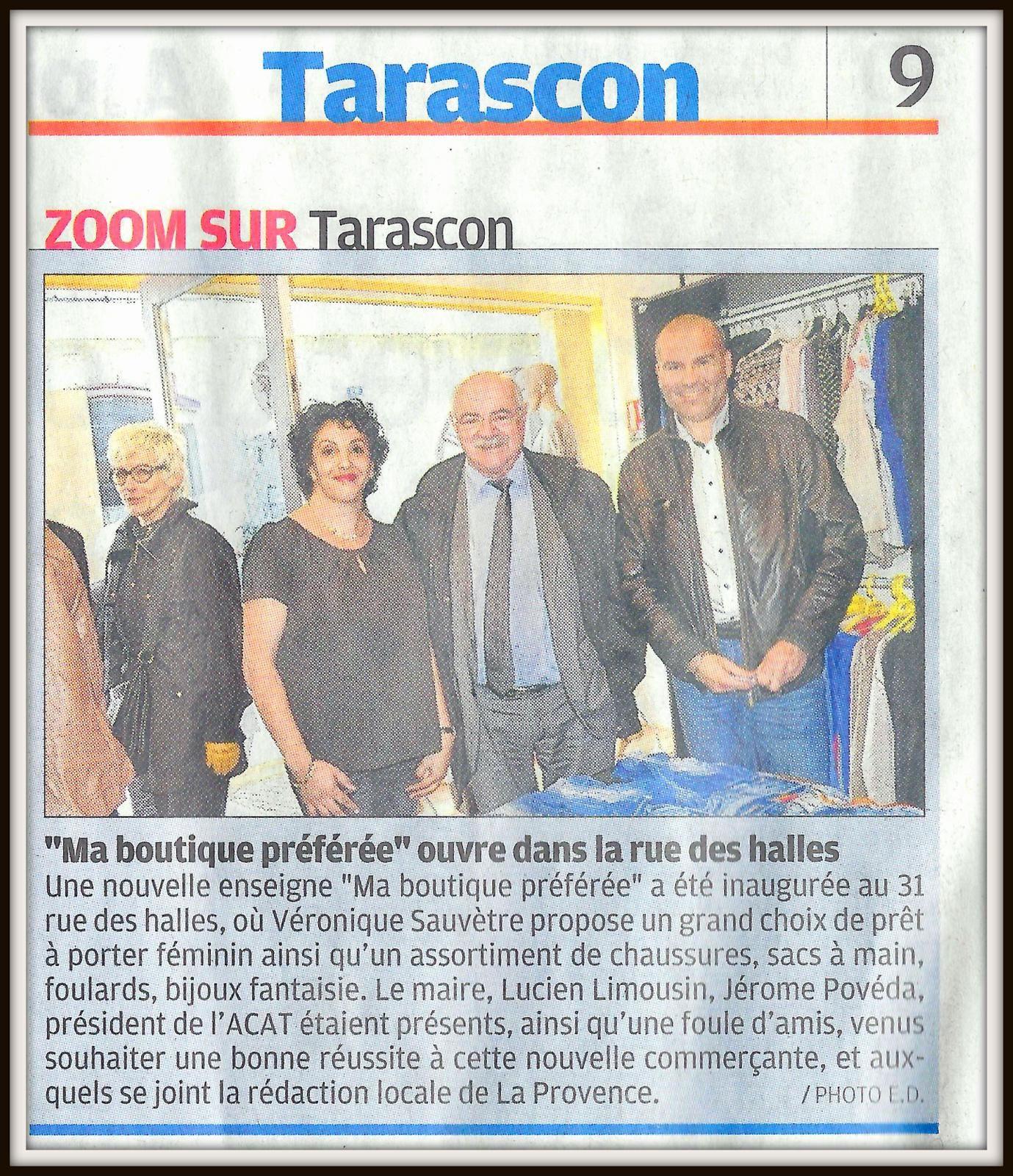 Article de La Provence du dimanche 5 avril 2015