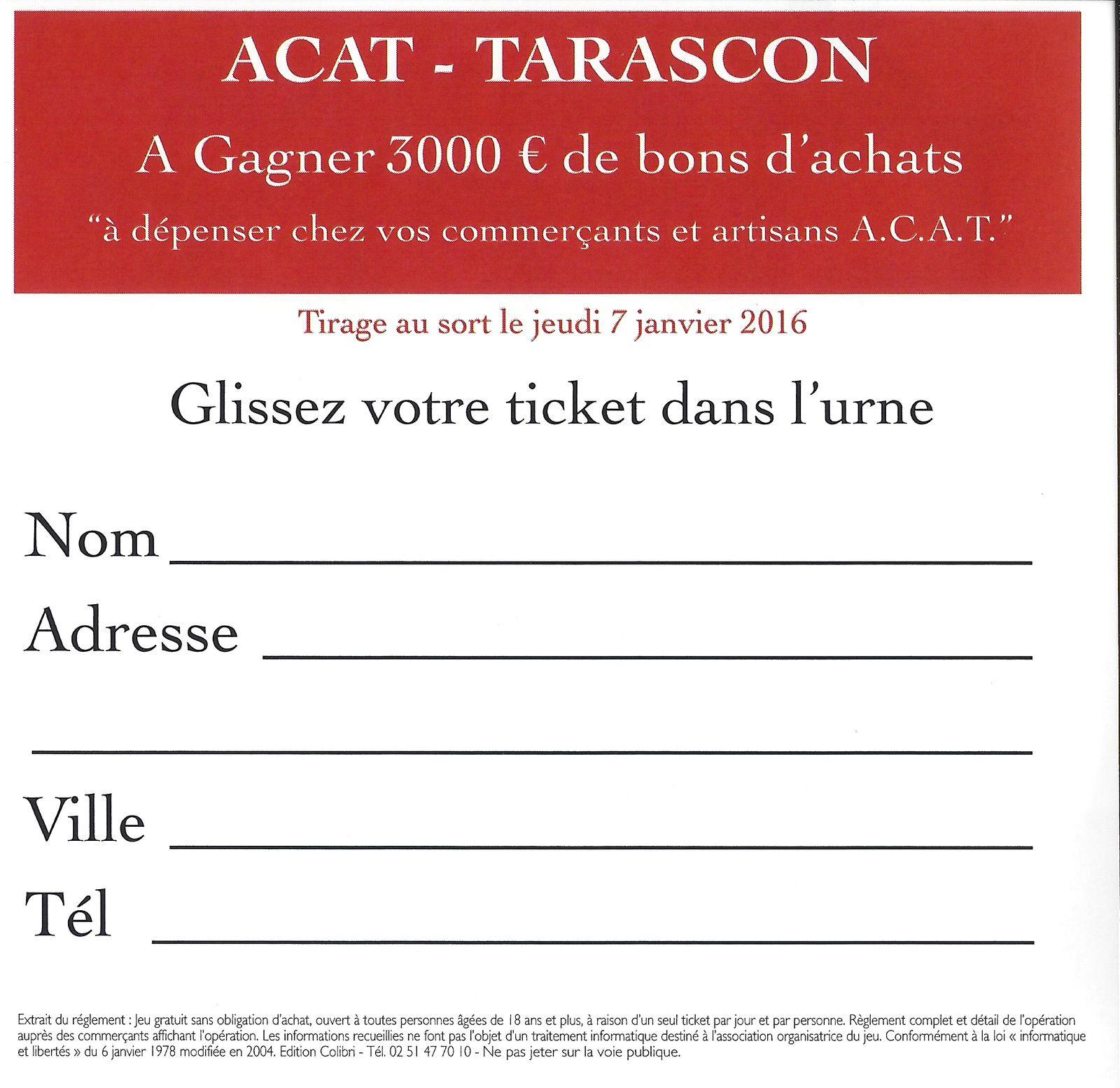 Remplissez correctement votre ticket et glissez-le dans l'urne !