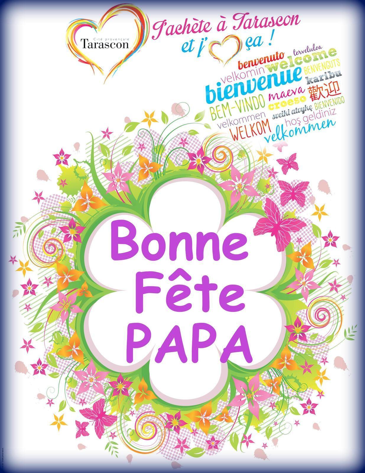 Bonne Fête Papa avec vos commerçants & artisans de l'A.C.A.T.
