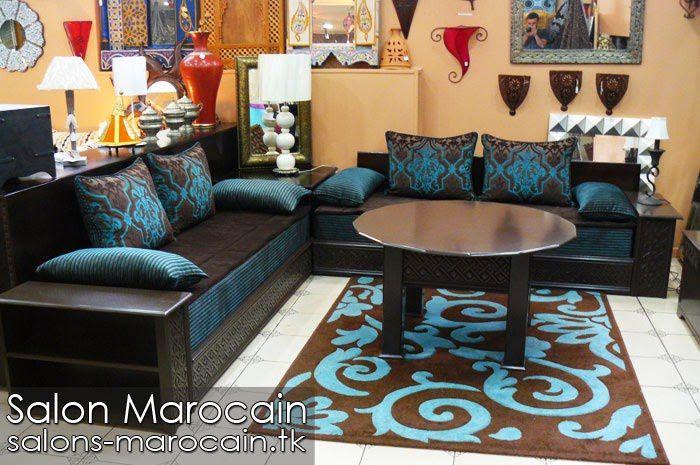 Salon marocain moderne de haute gamme - Salon marocain moderne 2014
