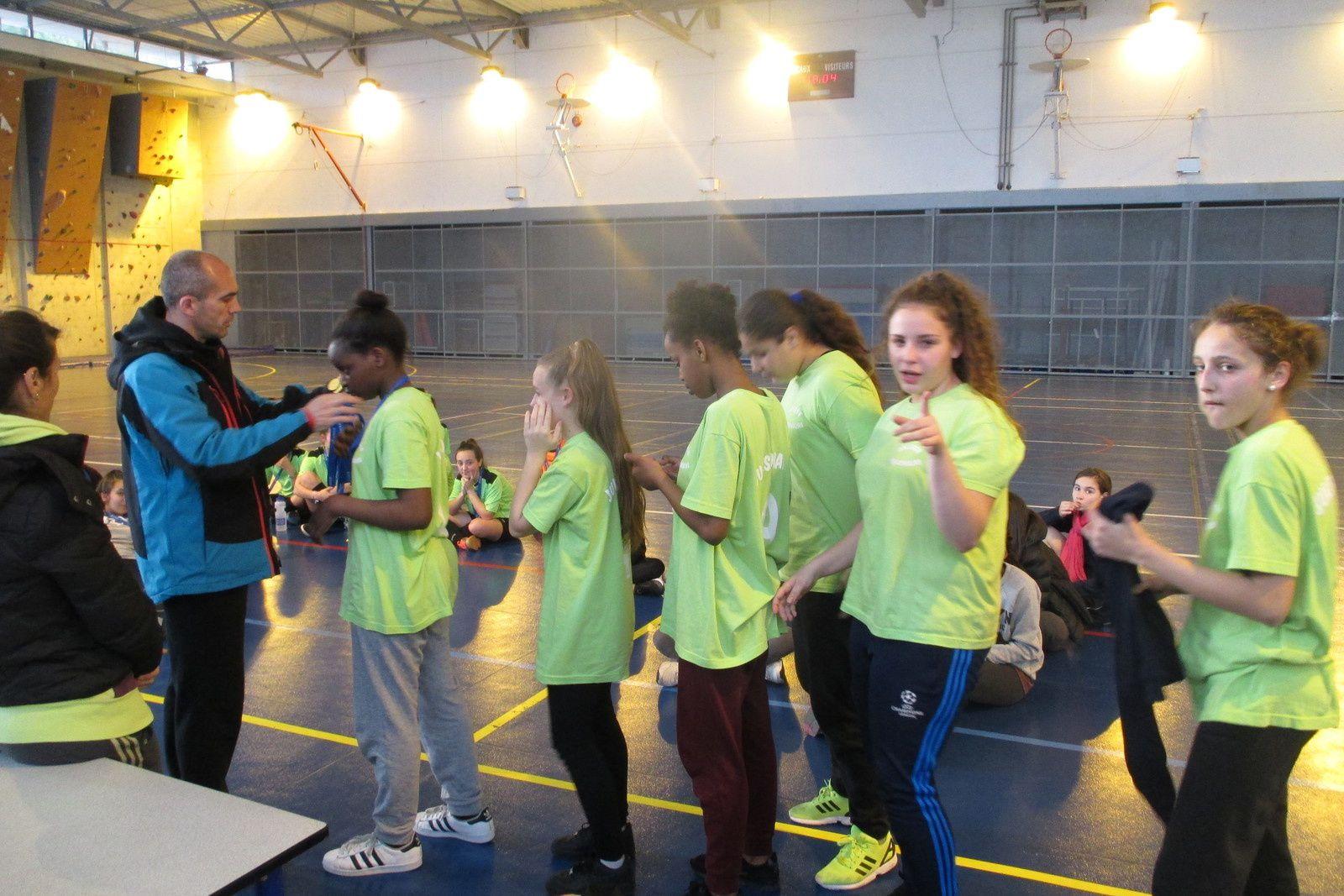 Finale départementale futsal minimes filles
