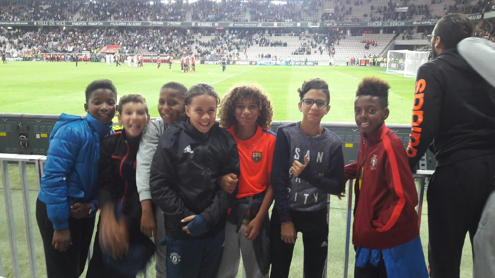 Sortie As Futsal au match Nice-Monaco