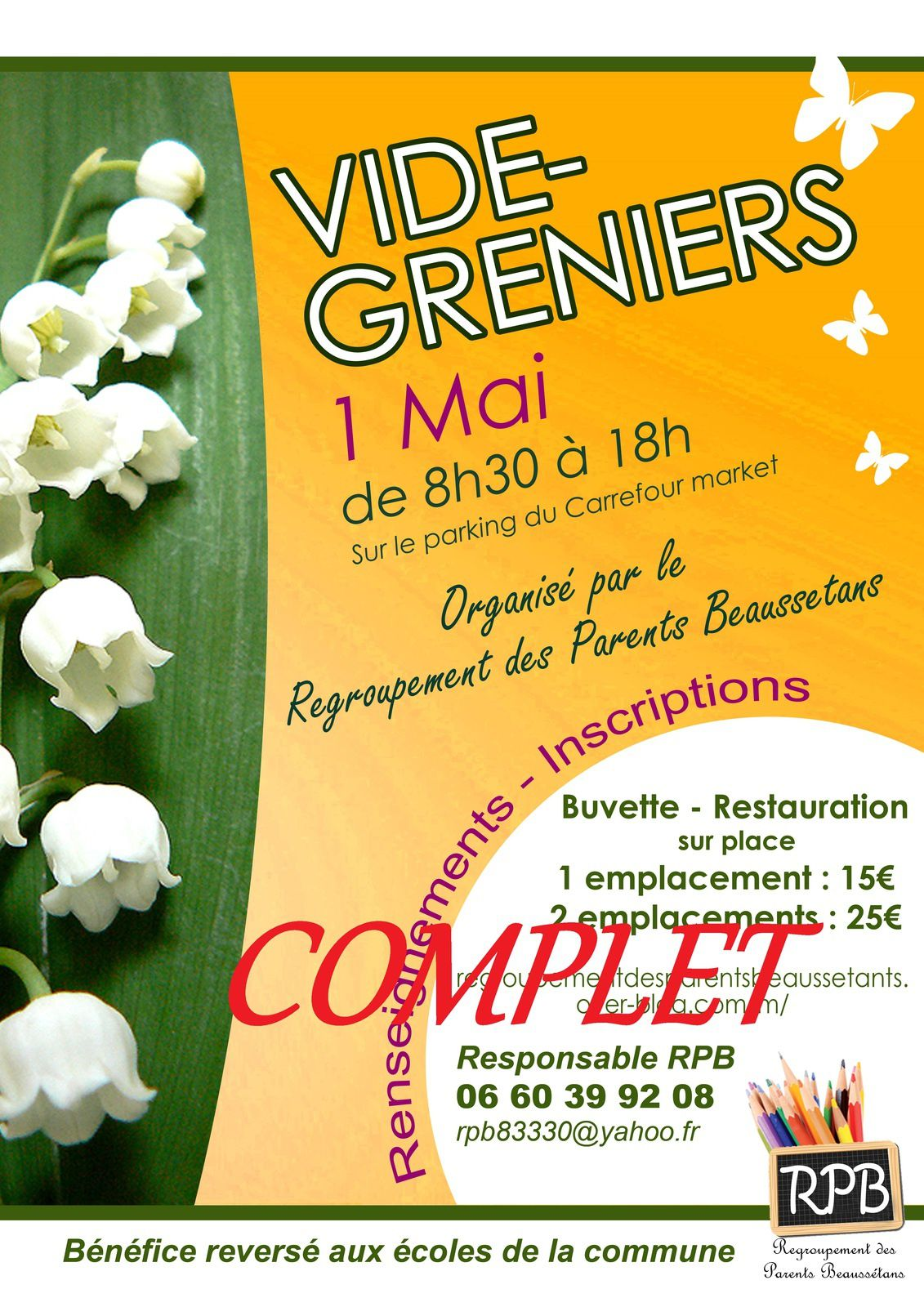 Vide greniers complet