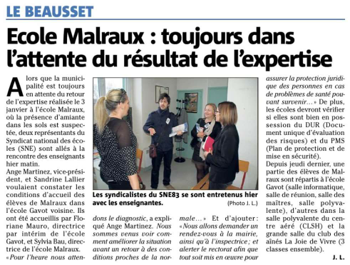 Article var matin du 10.01.17