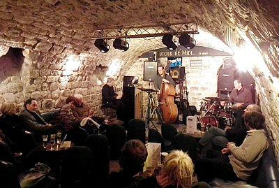 Autour de midi et minuit- La cave à Jazz