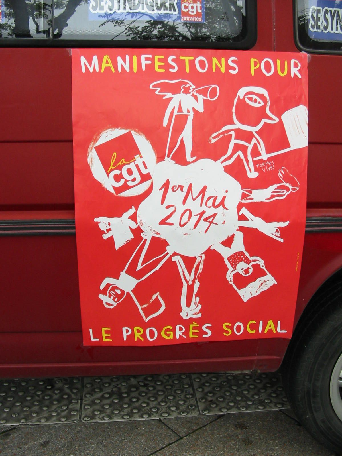 L'album Photo de l'Union Déparementale Cgt du Maine & Loire de la manifestation d'Angers.