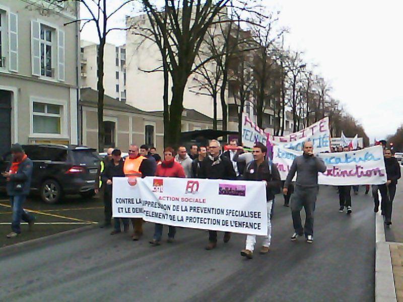 L'album photo de l'Union Départementale Cgt de la manifestation.