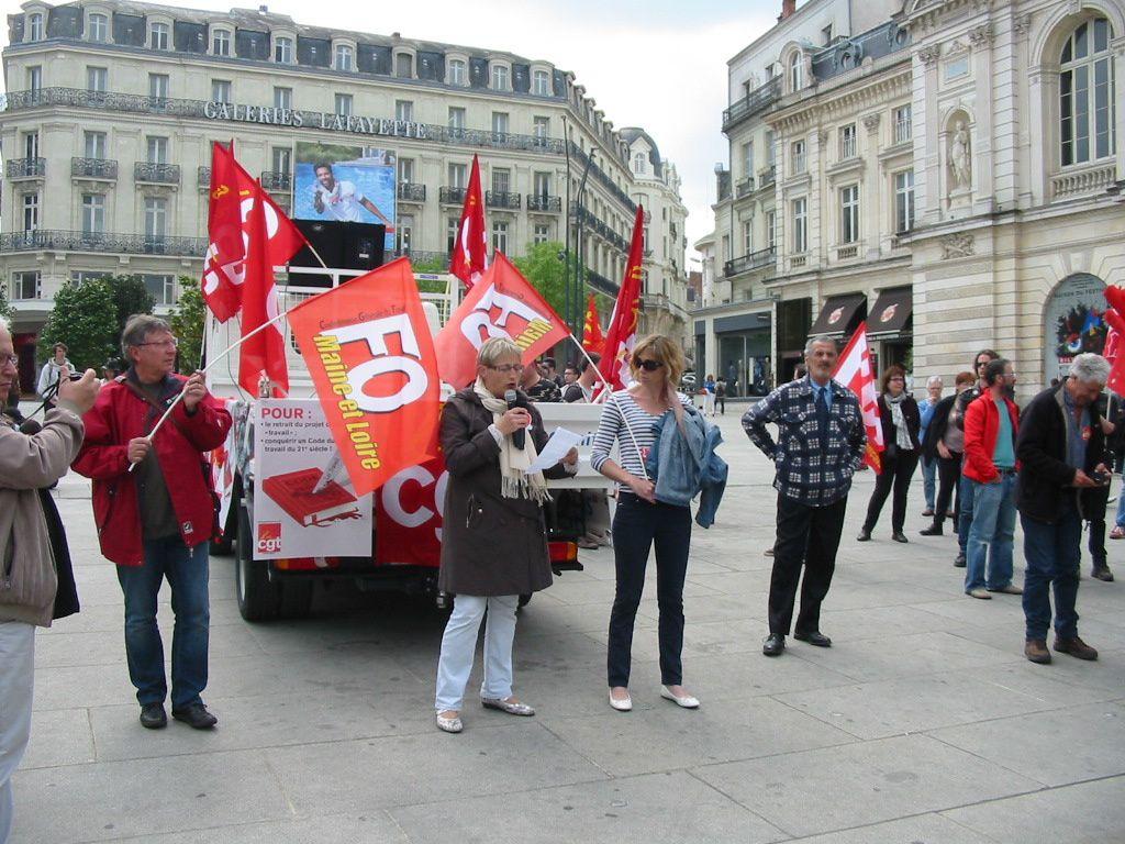 L'album photos de la manifestation d'Angers.