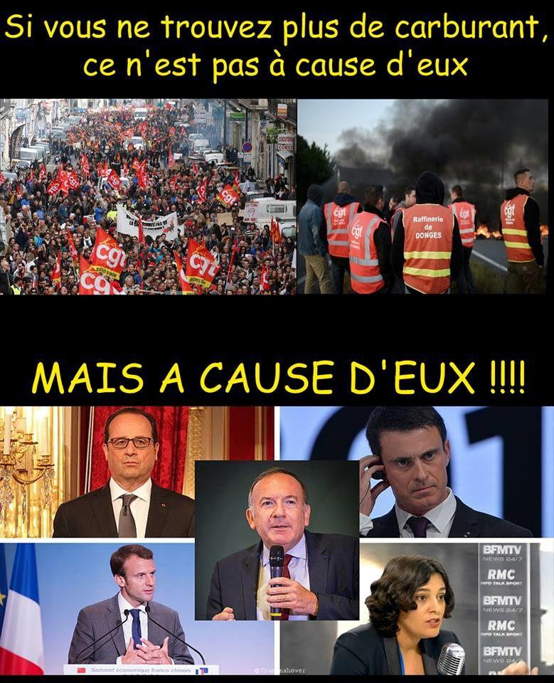 PENURIE DE CARBURANT: LES RESPONSABLES...