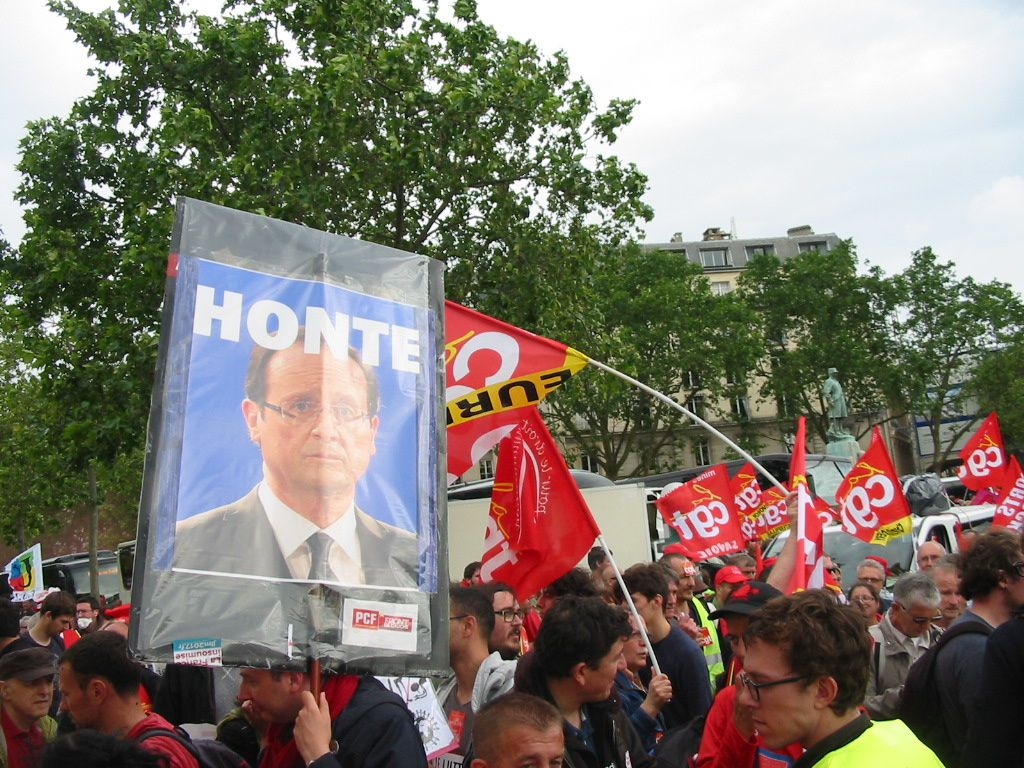 L'album photos de l'UD Cgt 49 de la manifestation du 14 juin à Paris.