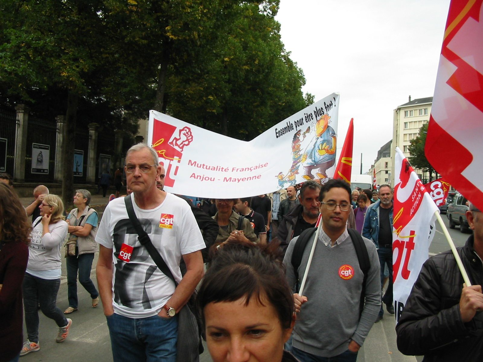 L'album photos de l'Union Départementale CGT du Maine & Loire de la manifestation d'Angers.