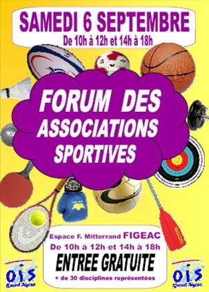 Forum des Associations Sportives 2014