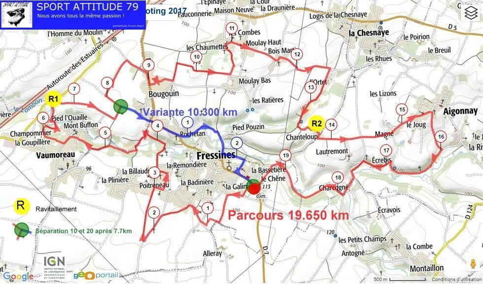 Parcours également disponibles sur Openrunner http://www.openrunner.com/index.php?id=6869050