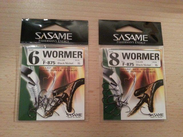 Hameçons Sasame Wormer