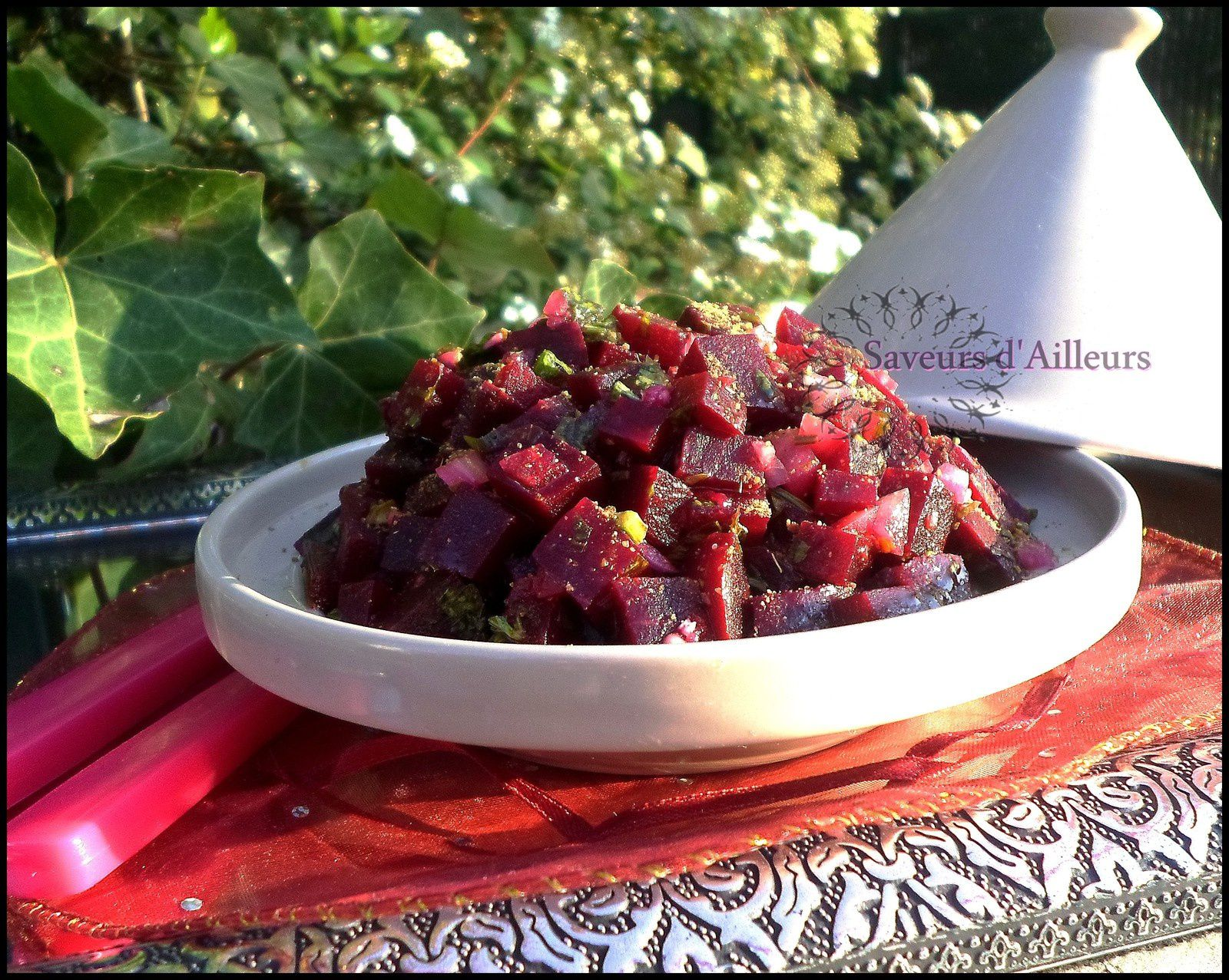 Salade De Betterave Au Cumin Version Marocaine - Cuisiner la betterave