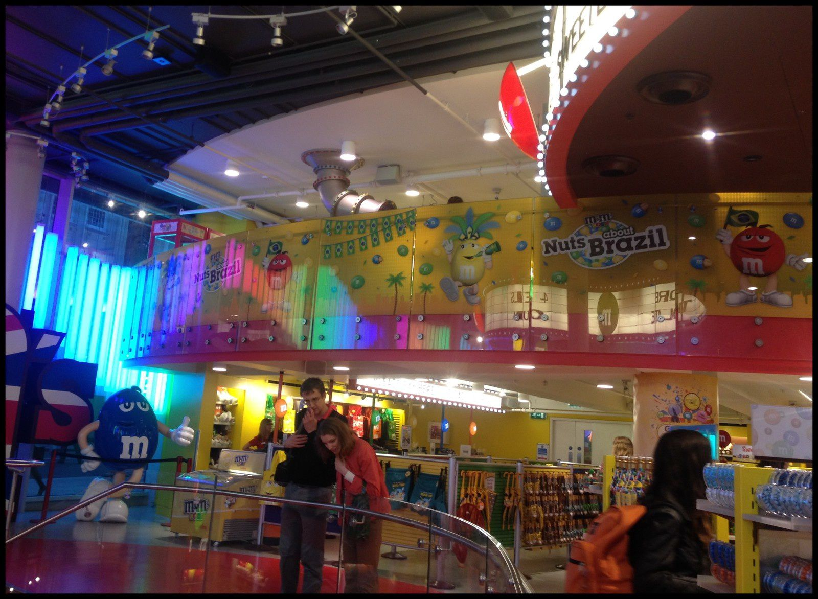 M&Ms World à Leicester Square