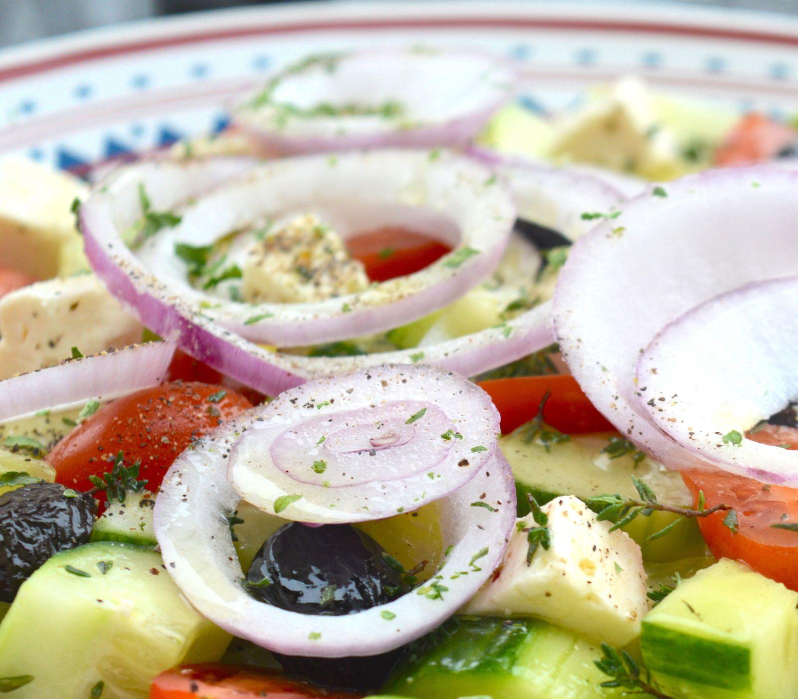 Salade Grecque ✿ Horiatiki Salata