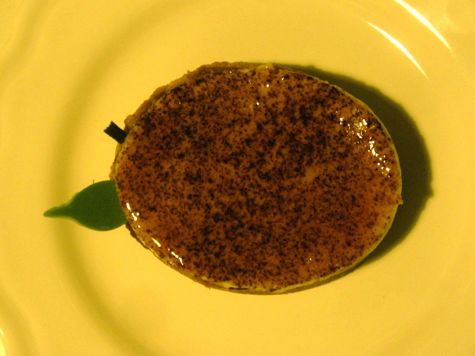 Tare aux pommes à la crème shiboust