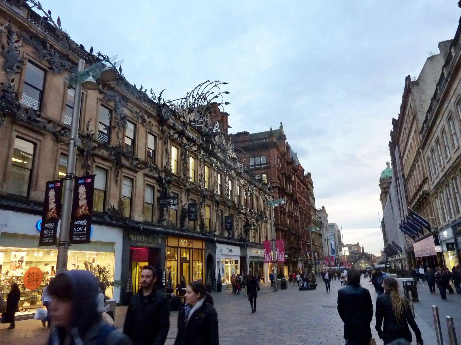 Voyage en Ecosse, Glasgow