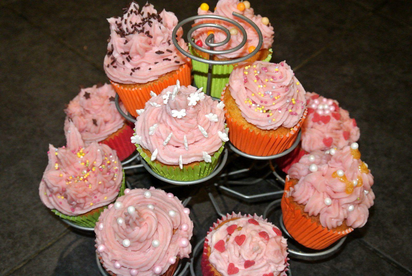 Cupcakes au beurre demi-sel