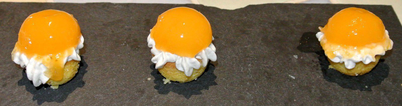 Mini tartelette abricot du cours exlusif du chef Michalak Photos de Laura et Brigitte